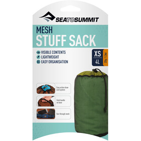 Sea to Summit Mesh Sacs de rangement XS, green